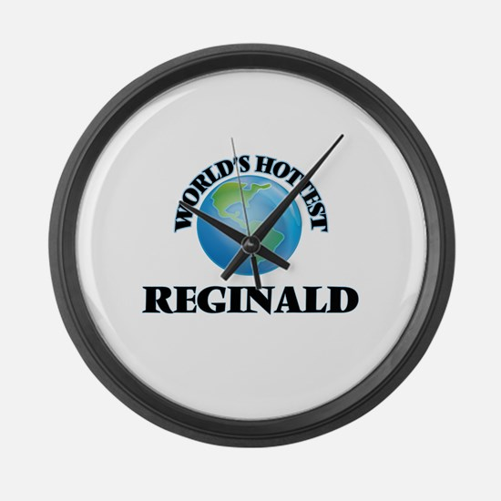 World's Hottest Reginald Large Wall Clock