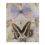 Antique Butterfly Throw Blanket