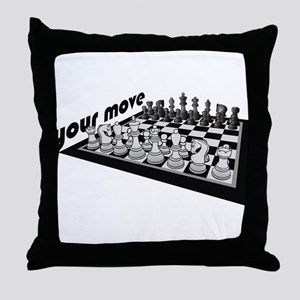 Your Move Chess Throw Pillow