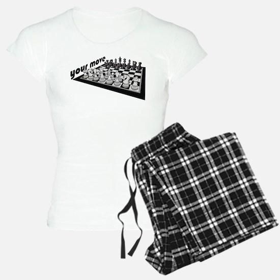 Your Move Chess Pajamas