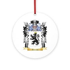 Gerrets Ornament (Round)