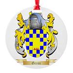 Geron Round Ornament