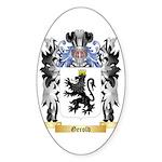 Gerold Sticker (Oval 10 pk)