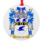 Gerok Round Ornament