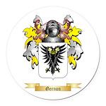 Gernon Round Car Magnet