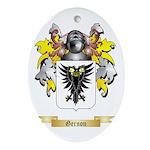 Gernon Ornament (Oval)