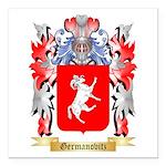 Germanovitz Square Car Magnet 3