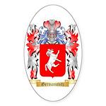 Germanovitz Sticker (Oval)