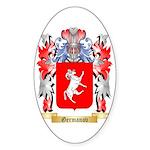 Germanov Sticker (Oval 50 pk)