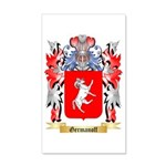 Germanoff 35x21 Wall Decal
