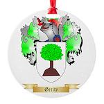 Gerity Round Ornament