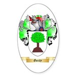 Gerity Sticker (Oval 10 pk)