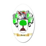 Gerity 20x12 Oval Wall Decal