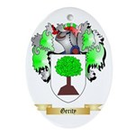 Gerity Ornament (Oval)