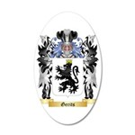 Gerits 35x21 Oval Wall Decal