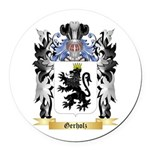 Gerholz Round Car Magnet