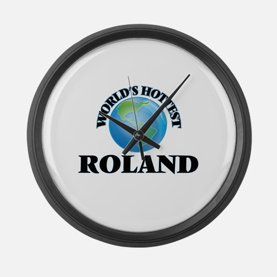 World's Hottest Roland Large Wall Clock