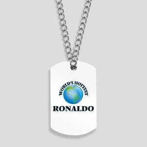 World's Hottest Ronaldo Dog Tags