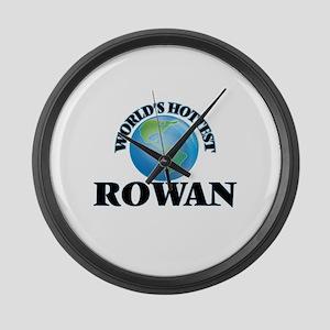 World's Hottest Rowan Large Wall Clock
