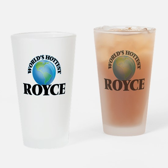 World's Hottest Royce Drinking Glass