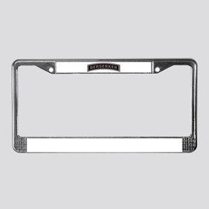 Berserker Tab License Plate Frame