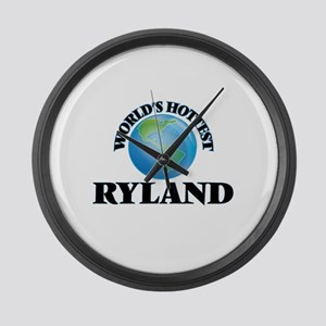 World's Hottest Ryland Large Wall Clock