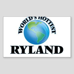 World's Hottest Ryland Sticker