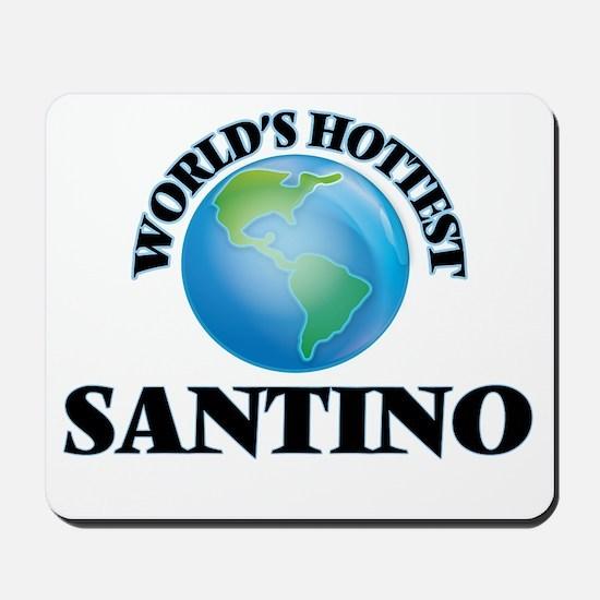 World's Hottest Santino Mousepad
