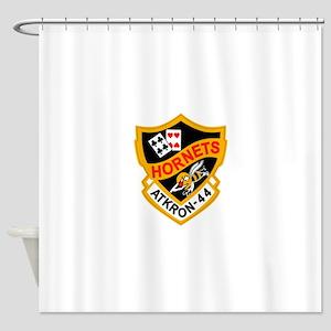 va-44_hornets Shower Curtain