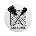 Lacrosse By Other Sports & Stuff Ornament (rou
