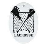 Lacrosse By Other Sports & Stuff Ornament (ova