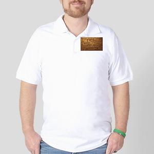 Hieroglyphs 2014-1020 Golf Shirt