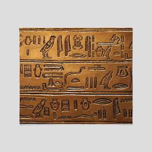 Hieroglyphs 2014-1020 Throw Blanket