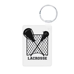 Lacrosse by Other Sports & Stuff LLC Keychains