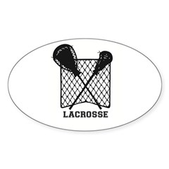 Lacrosse by Other Sports & Stuff LLC Decal