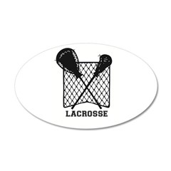 Lacrosse by Other Sports & Stuff LLC Wall Decal