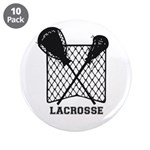 """Lacrosse By Other Sports & 3.5"""" Button (1"""