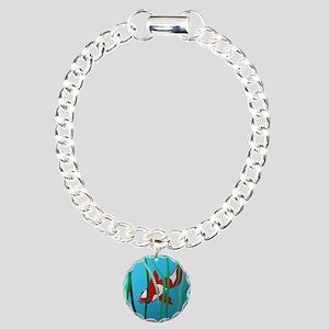 Koi by Leslie Harlow Charm Bracelet, One Charm