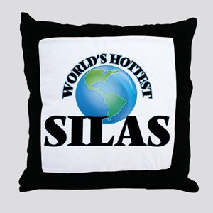 World's Hottest Silas Throw Pillow
