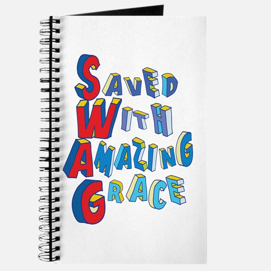 SWAG - saved with amazing grace Journal