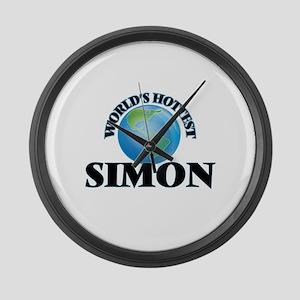 World's Hottest Simon Large Wall Clock