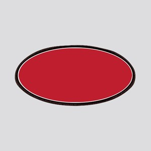 Cardinal Red Solid Color Patches