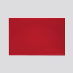 Cardinal Red Solid Color Magnets