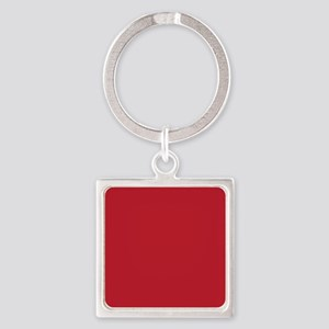 Cardinal Red Solid Color Keychains