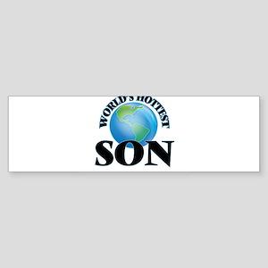 World's Hottest Son Bumper Sticker
