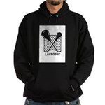 Lacrosse By Other Sports Stuff Llc Hoodie (dark)