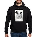 Lacrosse By Other Sports Stuff Llc Hoodie (dark)