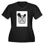 Lacrosse by Other Sports Stuff LLC Plus Size T-Shi