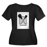 Lacrosse By Other Sports Stuff Plus Size T-Shirt