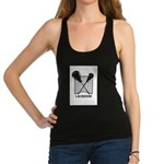 Lacrosse By Other Sports Stuff Racerback Tank Top
